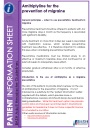Thumbnail of amitriptyline information leaflet